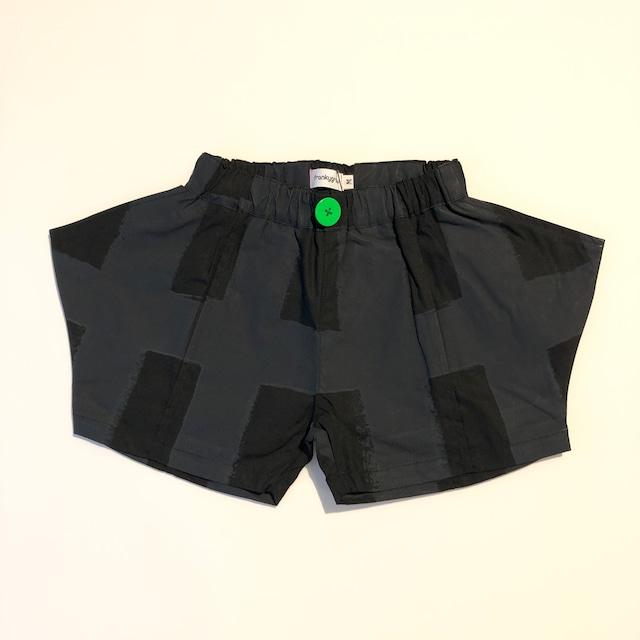 【21SS】フランキーグロウ ( frankygrow )ORIG CHECK RHOMBOS SHORT PANT[ S / M / L ]black-black ショートパンツ