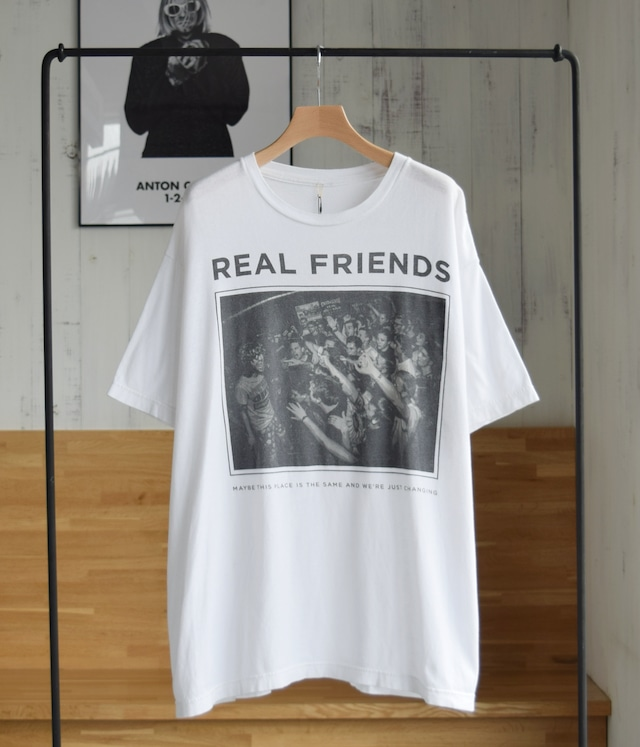 USED T-shirt -REAL FRIENDS-