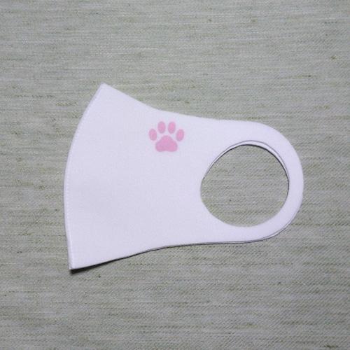 抗菌布マスク(ATB-UV+silver)ワンポイント付き