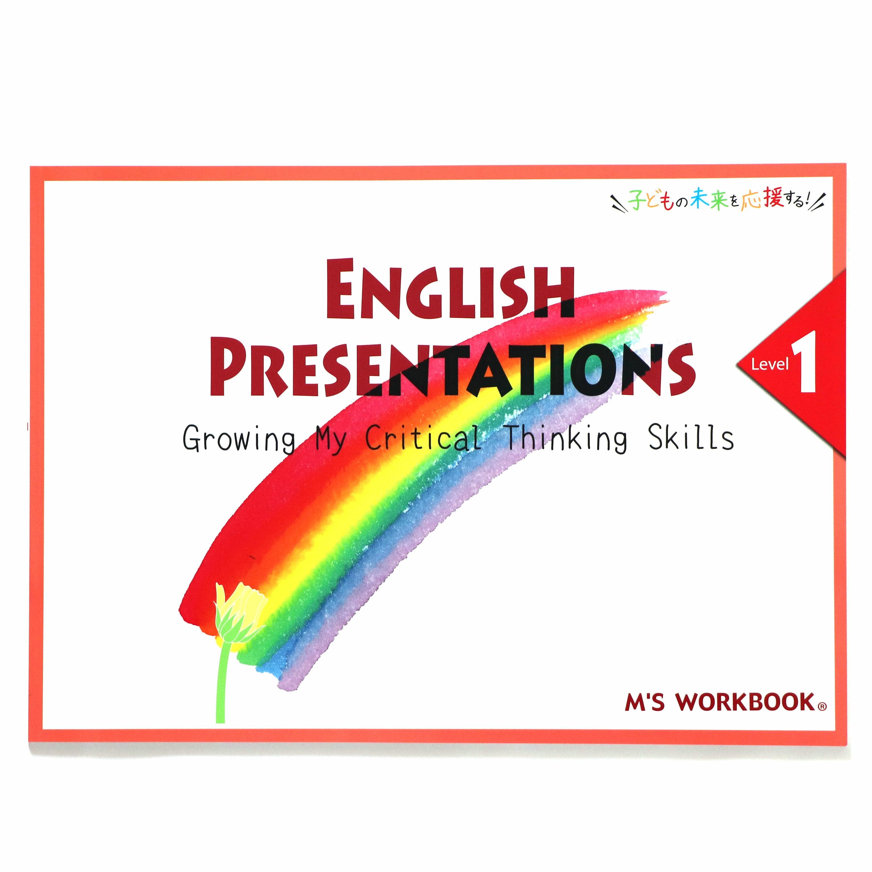 【English Presentations_Level 1】