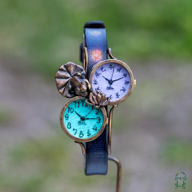 蓮、きれいね腕時計