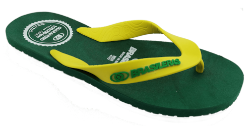 BRASILERAS | 100,000km Mens / Combi Green x Yellow
