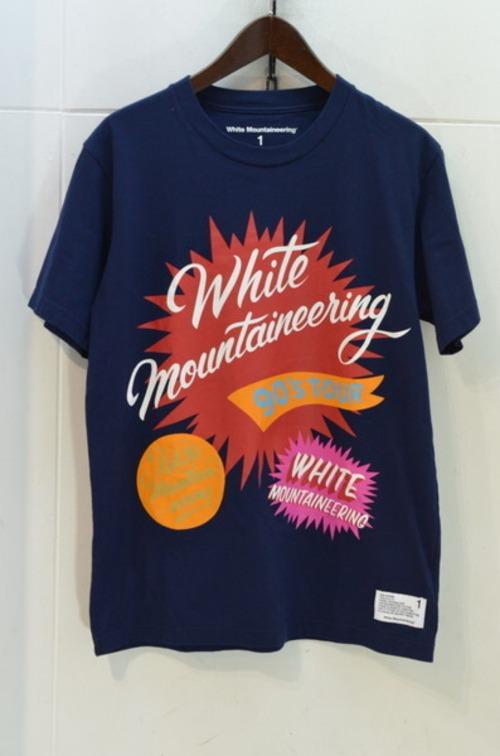 WHITE MOUNTAINEERING Tシャツ