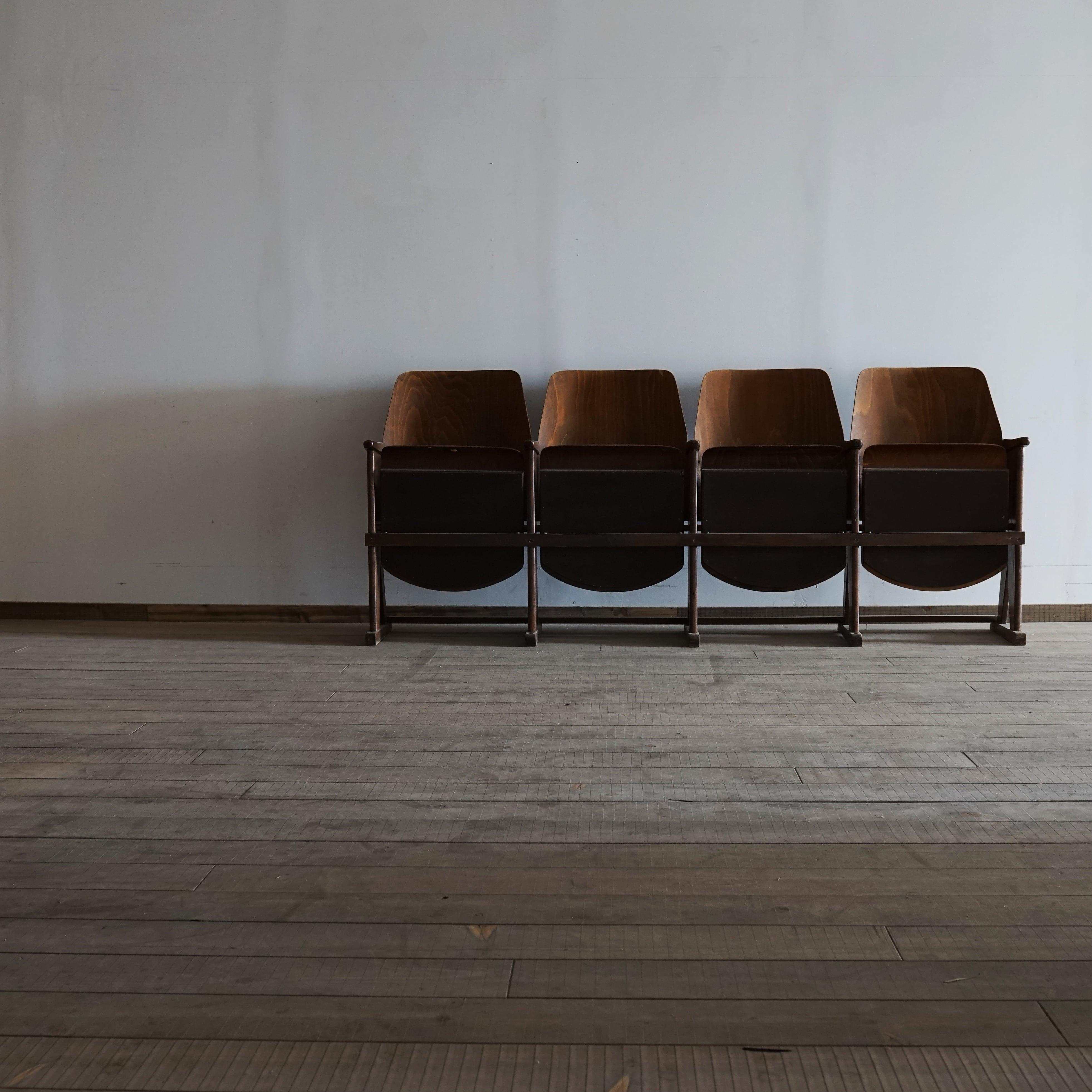 #02-01 old cinema chair