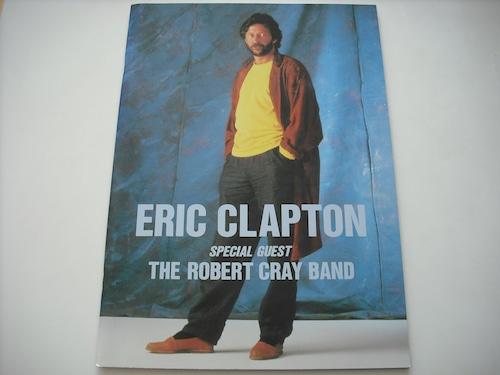 【パンフレット】ERIC CLAPTON / 1987 JAPAN TOUR