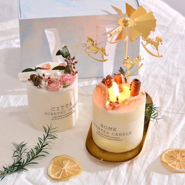 インテリア雑貨 雑貨 韓国雑貨 北欧 インスタ映え 小物 アロマキャンドル キャンドル candle 香り シンプル おしゃれ オレンジ シナモン オレンジシナモンキャンドル