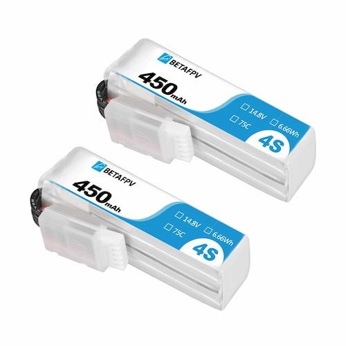 450mAh 4S 75C Lipo Battery (2PCS)