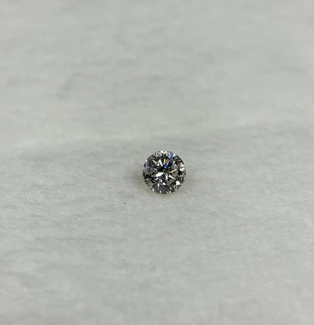 ダイヤモンド 0.097ct 蛍光:Medium 簡易ソーティング付き No:19W-4025