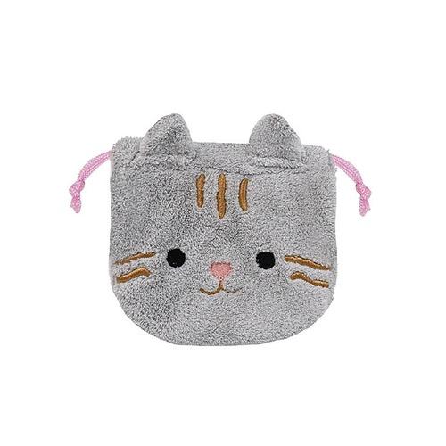 猫巾着袋(アニマルデイズふんわり巾着)