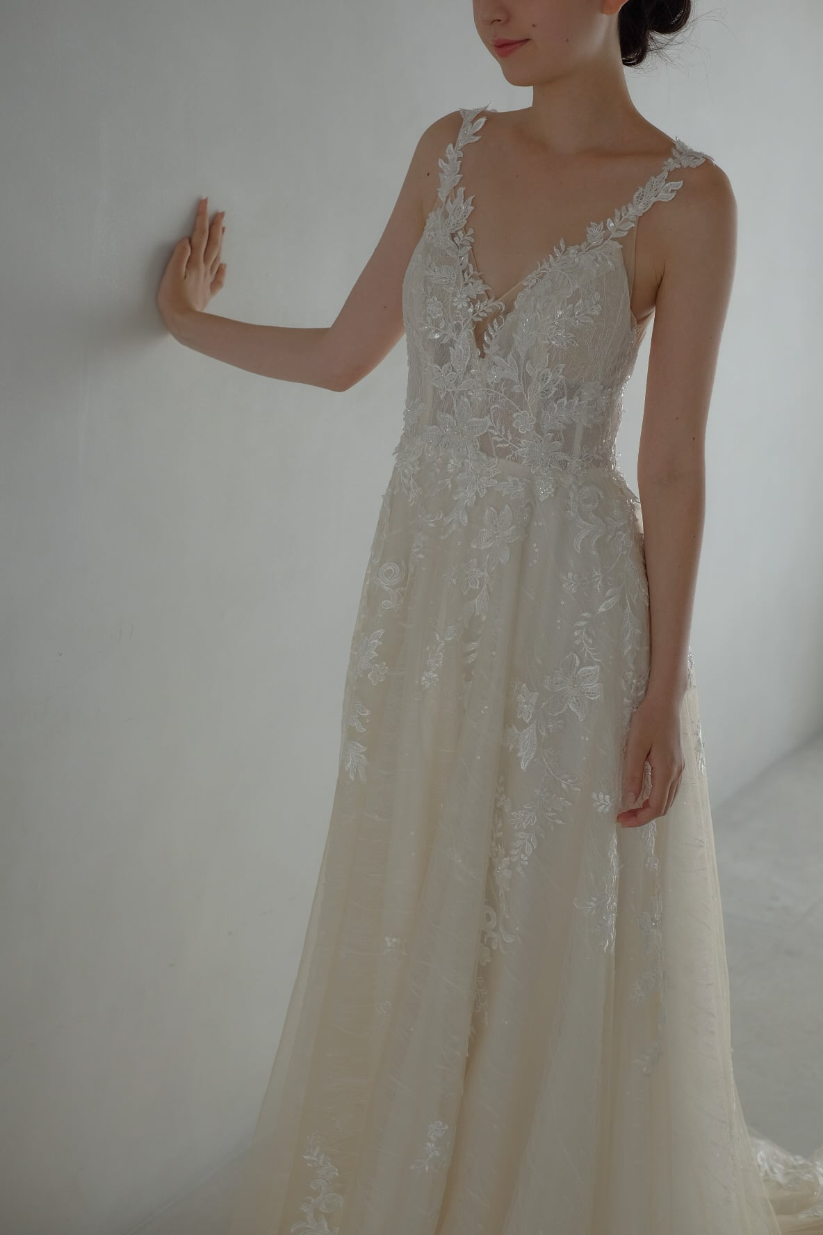 Wedding Dress/rental/A Line /DR6004 (旧品番DR2004)