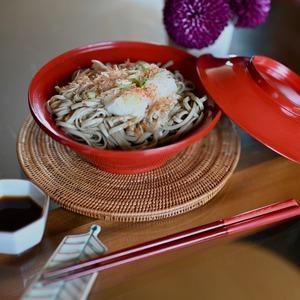 〈再入荷〉【31014】輪島塗 蓋付き 明治 / Wajima Nuri Wan Bowl with A Lid / Meiji Era