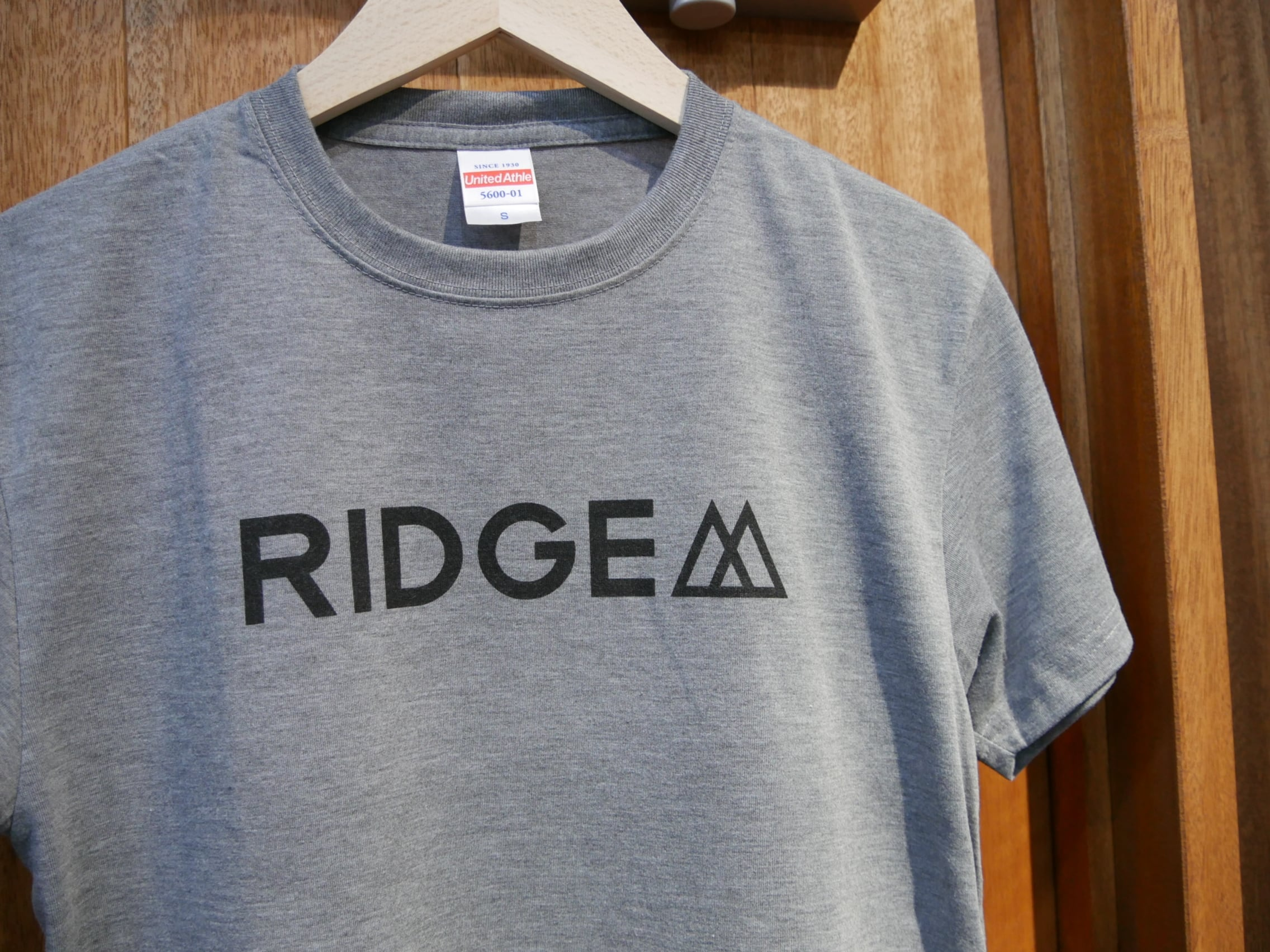 RIDGE MOUNTAIN GEAR / BASIC LOGO PRINT TEE