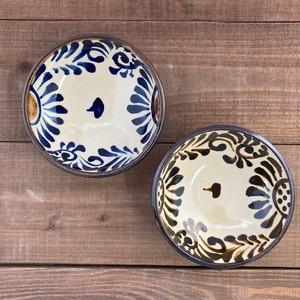 5寸まんじゅう鉢/菊唐草