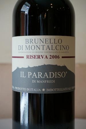Burunello di Montalcino Riserva 2006 1500ml / Il Paradiso di Manfredi( ブルネッロ ディ モンタルチーノ / イル パラディソ ディ マンフレディ )