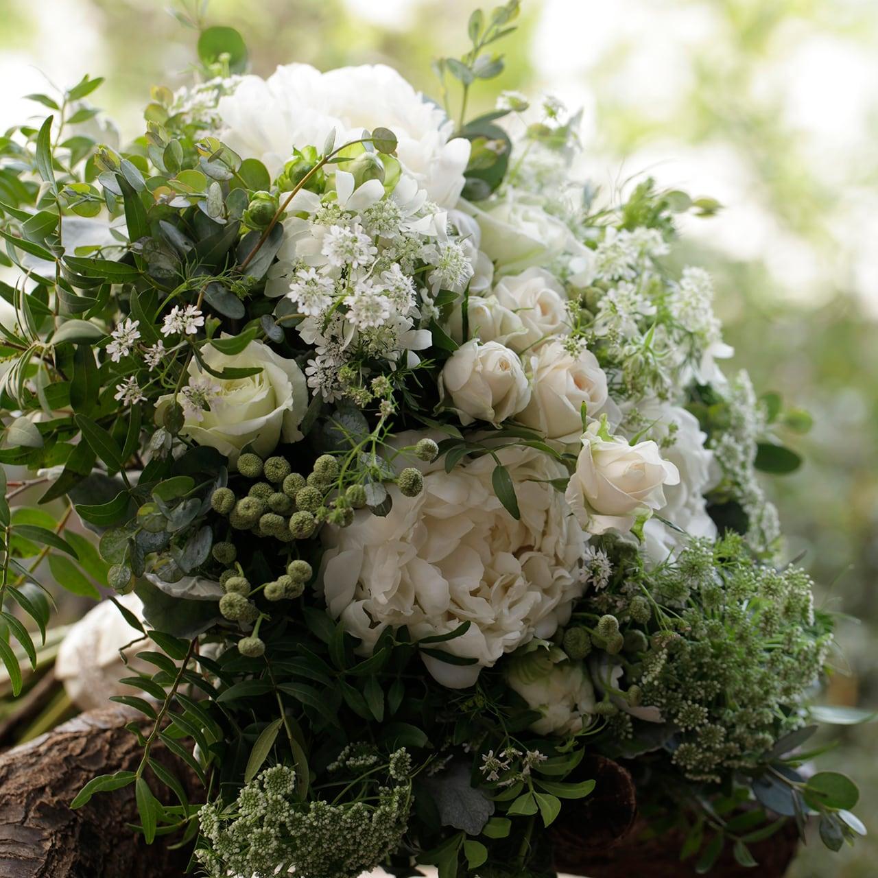 白花のグランブーケ