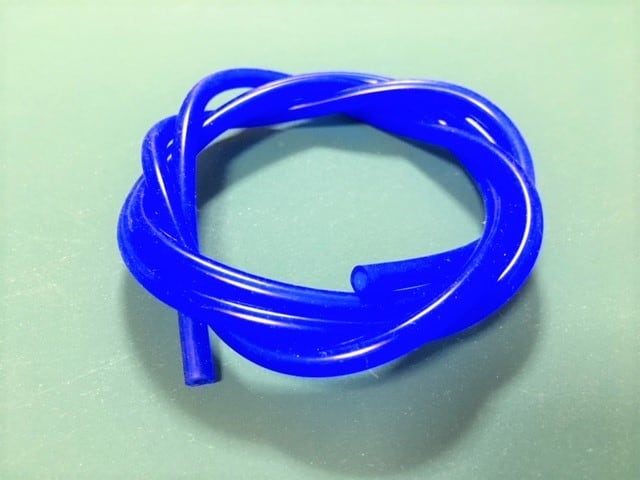 外径6mm*内径3mm 長さ1m★グロー燃料シリコンチューブ 、カラー(ブルー)