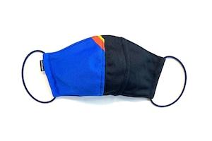 【夏用デザイナーズマスク 吸水速乾COOLMAX使用 日本製】SPORTS MIX MASK F0812122