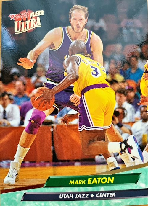 NBAカード 92-93FLEER Mark Eaton #180 JAZZ