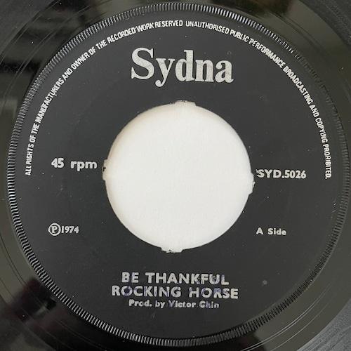 Rocking Horse - Be Thankful【7-20769】