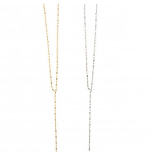 Sea'ds mara/シーズマーラ Random cut ball chain necklace 21A2-20