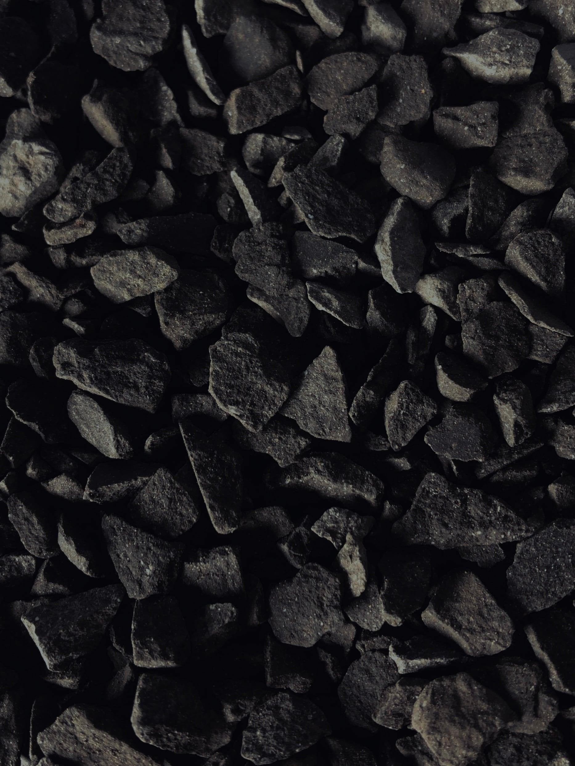 瓦化粧石 黒燻・M 1L