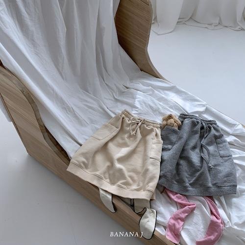BANANA J スウェットスカート90~130