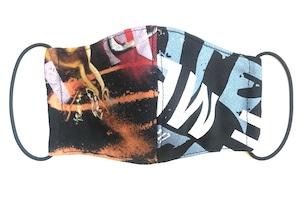 【COTEMER マスク 日本製】PRINT × BAND MASK M0414065