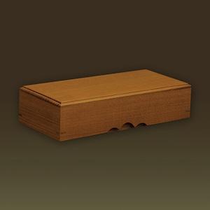 化粧木箱 桑(日本産)【手作り/木の箱】