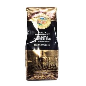 バニラマカダミア(挽き済みの粉) ロイヤルコナ(8oz 227g) ハワイコナコーヒー フレーバーコーヒー