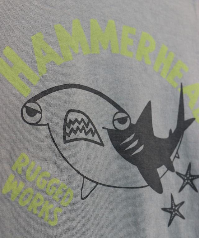 海の生き物プリント半袖TEE(日本製)