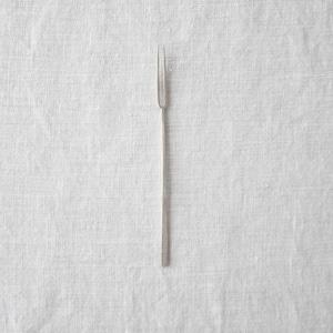 三輪周太郎 Shutaro Miwa  銀製二股フォーク