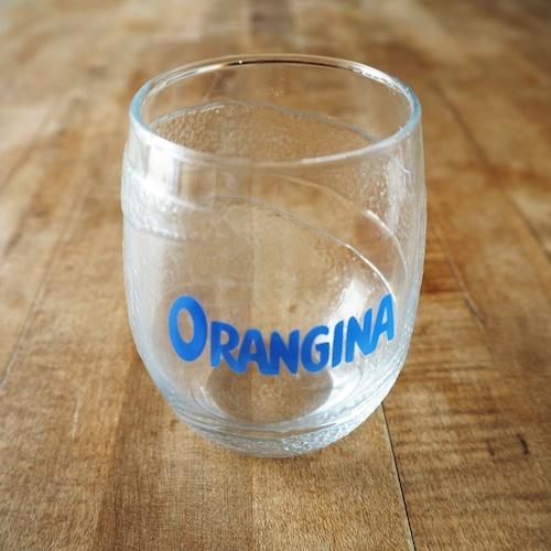 オランジーナのグラス