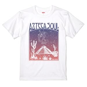 AZTECA SOUL アステカ族の魂 アステカ ソウル 白Tシャツ