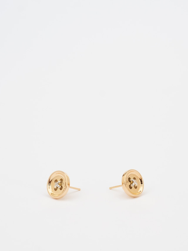 """button"" Pierced Earring / Fabulous Sounds"