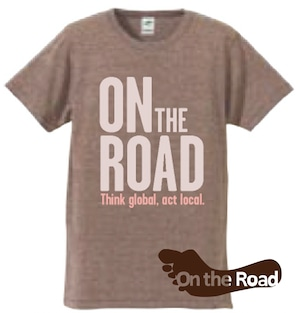 On the Road Tシャツ《ブラウン》