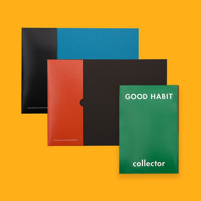 [OH,LOLLYDAY!] Good habit ペーパーファイル (全3色)