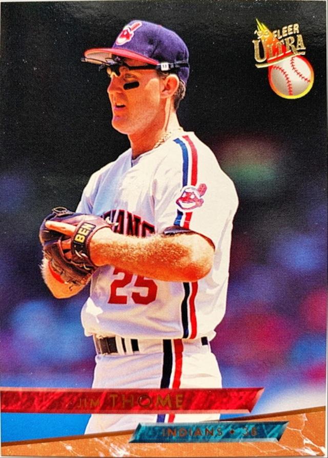 MLBカード 93FLEER Jim Thome #192 INDIANS
