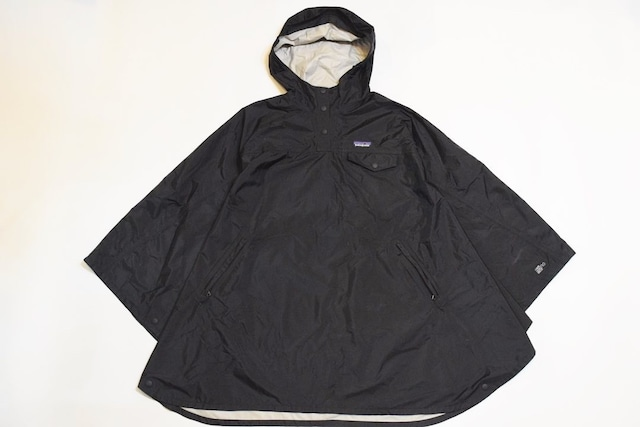 USED Women patagonia Torrent shell poncho -XS/S 01091