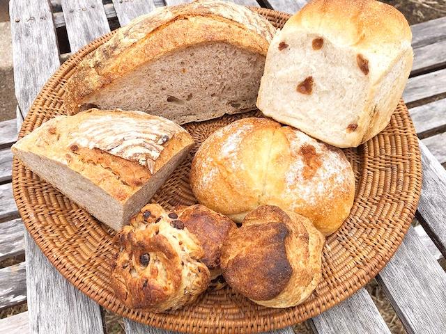 信州小麦のパン ちょっとずつおまかせセット