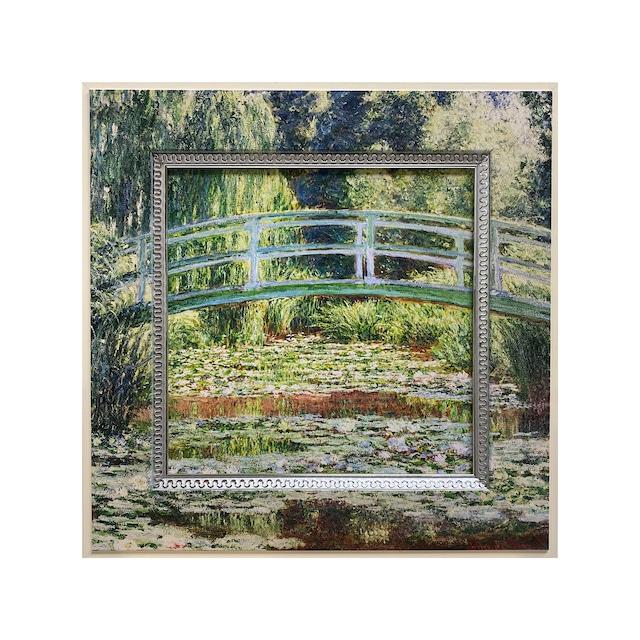 睡蓮の池と日本の橋 BA-05022