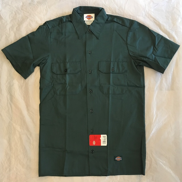 """""""NOS"""" Dickies SHORT SLEEVE WORK SHIRT-GB """"Made in USA"""""""