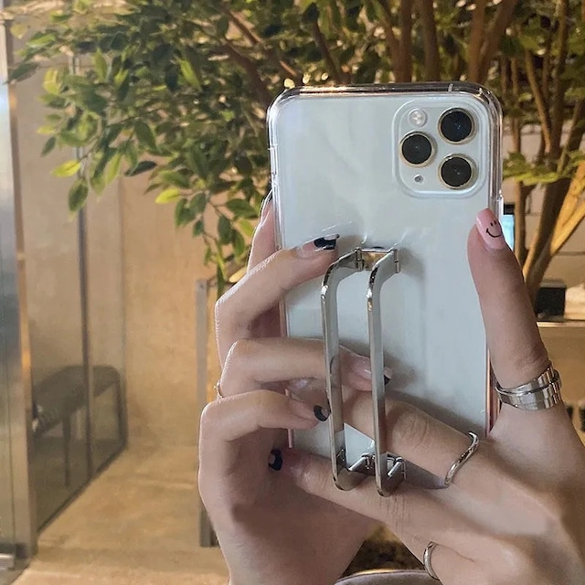 Goldgrip holder clear iphone case