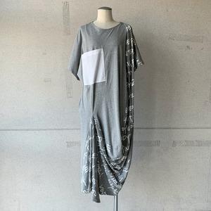 【mintdesigns】LETTER T-DRESS/38211-CS1DC01