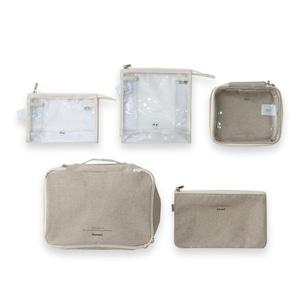 【特価】depound travel pouch set 2colors / デパウンド トラベル ポーチ セット 韓国雑貨