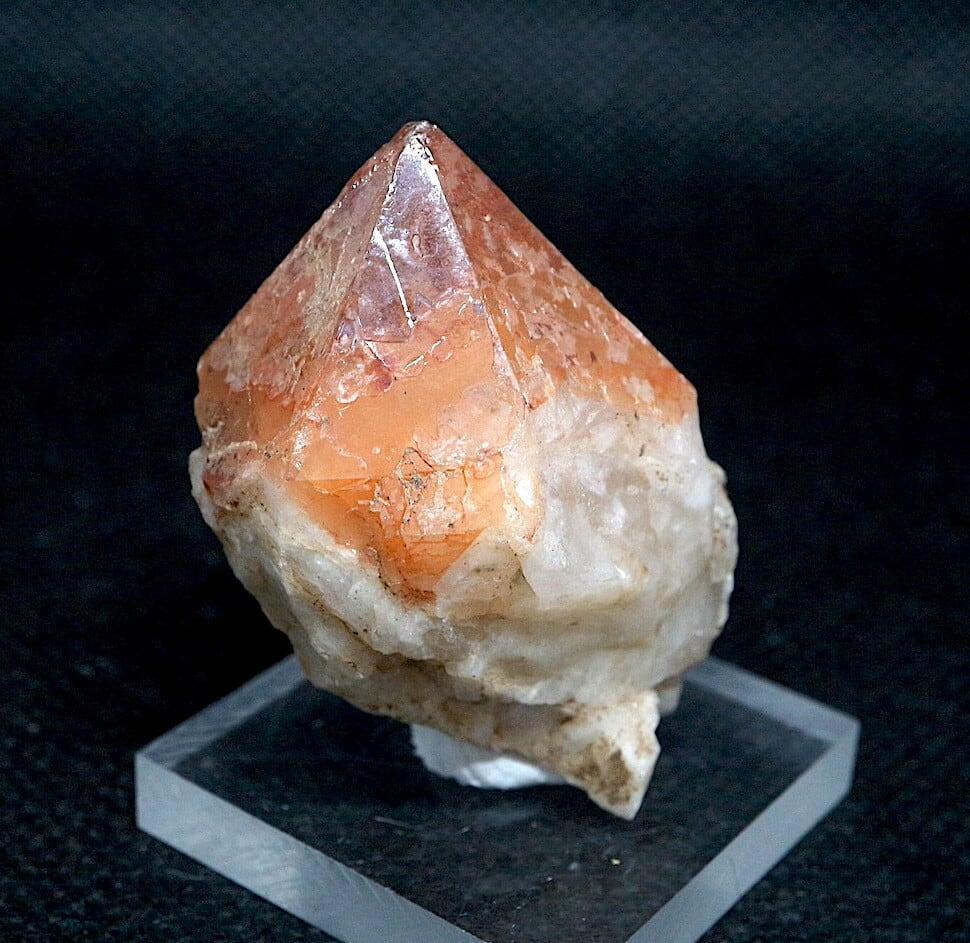 コロラド産 レッドフェザー レイクス クォーツ ヘマタイト 水晶 合計25,3g RFQ024 鉱物 原石 天然石 パワーストーン