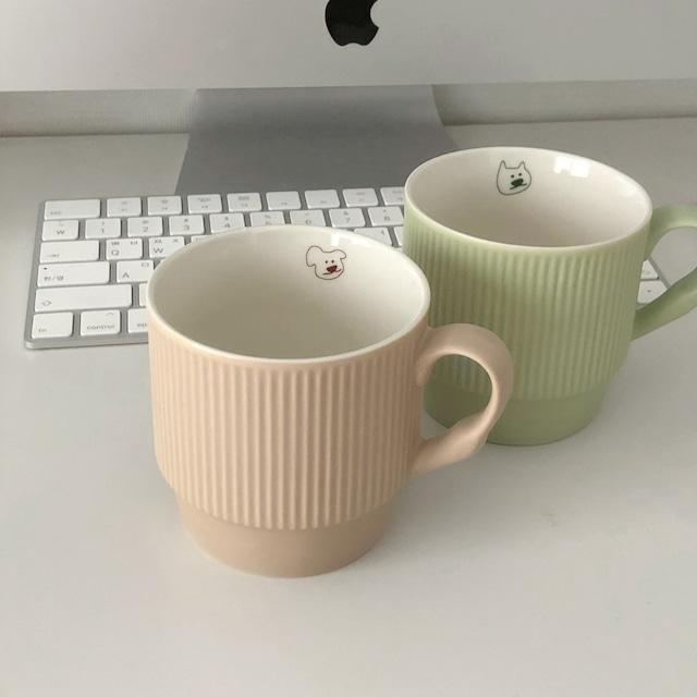 [in autumn] Nerdy mug cup(全2種)