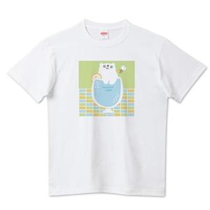 しろくまサイダー / 5.6ハイクオリティーTシャツ(United Athle)
