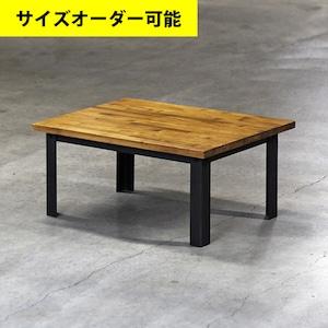 IRON LEG CENTER TABLE[AMBER COLOR]サイズオーダー可