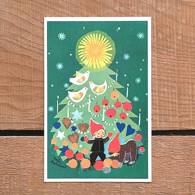 クリスマスカード「Kerstin Frykstrand(シェスティン・フリュークストランド)」《210208-05》
