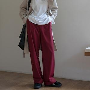 Hem up color pants(ヘムアップカラーパンツ)a-794